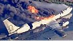 تحطم طائرة نقل عسكرية أمريكية