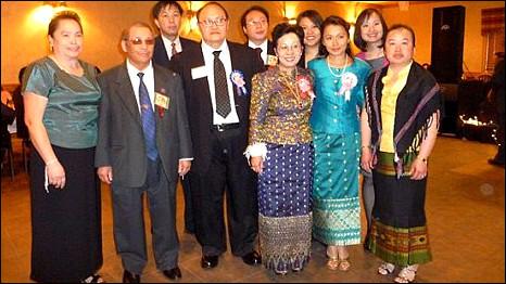 Gia đình ông Chu Vang