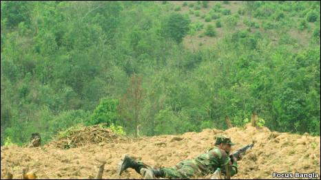 পার্বত্য চট্টগ্রামে সেনাবহিনী