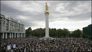 Демонстрация в Тбилиси 21 мая