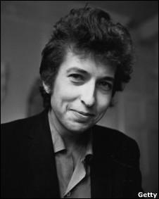 Bob Dylan em foto de 1965