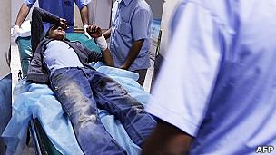 Herido en Trípoli