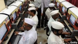 Café internet en India