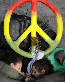 Indignados en Madrid