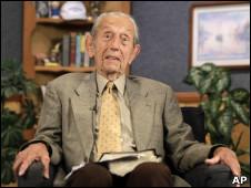 O pastor americano Harold Camping.