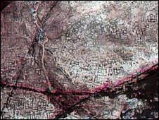 Thành phố cổ Tanis qua hình ảnh vệ tinh