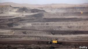 内蒙霍林郭勒一个煤矿