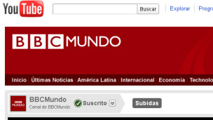 BBC Mundo en YouTube