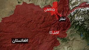 نقشه تخار
