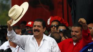 Ex presidente de Honduras, Manuel Zelaya