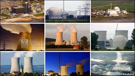 Các nhà máy điện hạt nhân tại Đức