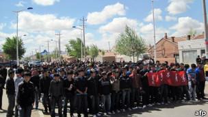 内蒙学生和牧民上街抗议(26/05/2011)