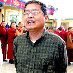 蘇曉康2011年3月在達蘭薩拉
