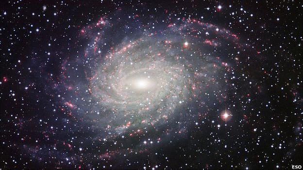 Спиральная галактика NGC 6744