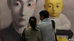 Subasta de arte en Hong Kong.