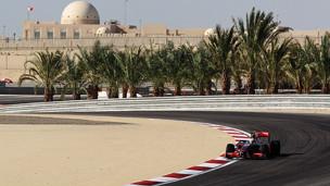 حلبة السباق في البحرين