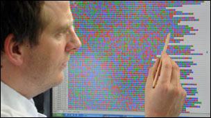 Código genético de la E. coli 0104