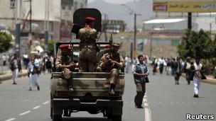 قوات الجيش في صنعاء