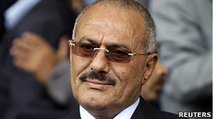 也门总统萨利赫(20/5/2011)