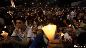 香港六四烛光晚会2011年