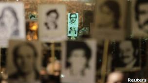Manifestaciones por los desaparecidos