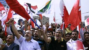 تظاهرات في البحرين