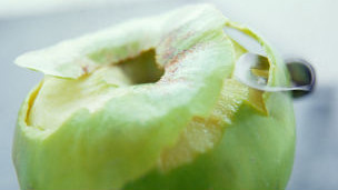 Cáscara de manzana