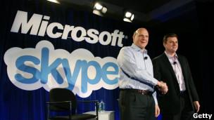 微软购Skype