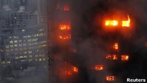 胶州路公寓火灾(15/11/2010)