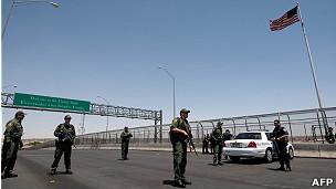 Frontera de EE.UU. y México.