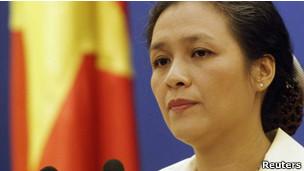 越南外交部发言人阮芳雅