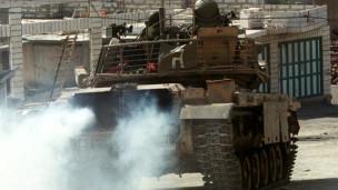 عربة جيش إسرائيلية