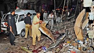 تفجير بيشاور