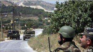جنود من الجيش السوري