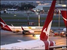 Voos da Qantas