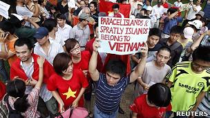 越南河内爆发反华示威(12/6/2011)
