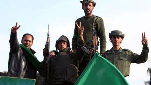قوات القذافي