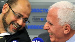 عزام الاحمد وموسى ابو مرزوق