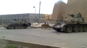 انتشار لقوات الجيش السوري في محافظة دير الزور