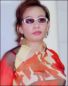 Bà Tạ Phong Tần - ảnh từ trang web của bà