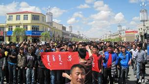 内蒙古示威