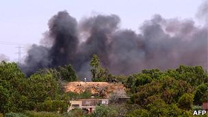 انفجار في تاجوراء من ضواحي العاصمة الليبية طرابلس