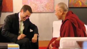 Dalai Lama na TV australiana