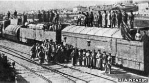 Бронепоезд, 1919 год