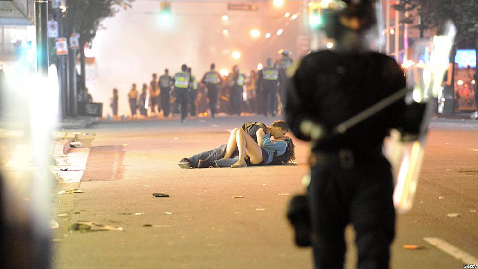 Disturbios en Vancouver