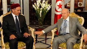 عبد الجليل ورئيس الوزراء التونسي