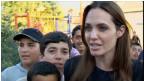 انجلينا جولي تزور معسكر اللاجئين السوريين في تركيا