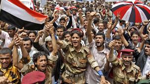 مظاهرات في صنعاء