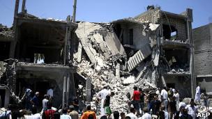 بعد غارة للناتو في ليبيا