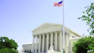 المحكمة العليا الأمريكية في واشنطن